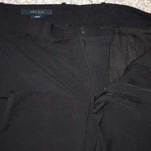 Perry ellis slim fit dress pant / striped